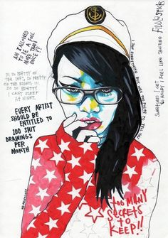 """IT AINT EASY PLAYING DUMB"" LIMITED EDITION PRINT BY MR.FRIVOLOUS » Design You Trust"