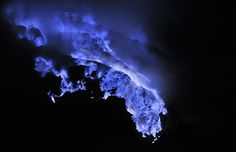 Nightly Kawah Ijen by Olivier Grunewald | Iconology #grunewald