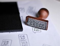 Graphicwand stamp - graphicwand #corporate #stamp #identity #graphicwand