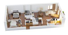 3d floor plan #arch #viz