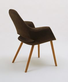 Low-Back Armchair, Charles Eames, Eero Saarinen, Marli Ehrman