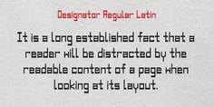 Designator Fonts by TEKNIKE » Fontspring - #designator #typeface #font #kikis #teknike