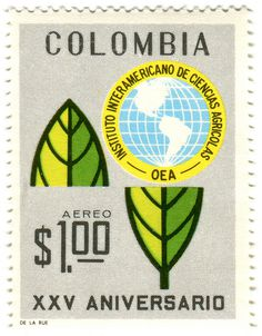 Colombia stamp #stamp