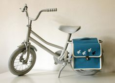 "superduper cute #kids #bicycle bags: ""Meisen"" Fahrradtasche (daWanda)"