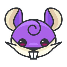 See more icon inspiration related to pokemon, avatar, nintendo, character, gaming, rattata, video game and creature on Flaticon.