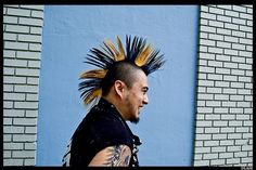 All sizes | Asia's punk sensation | Flickr - Photo Sharing! #profile #punk #photo #rock #color #digital #tattoo #photography #artist