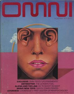 Flickriver: Photoset 'Omni Magazine' by Eric Carl #fiction #sci #fi #omni #80s #science #magazine