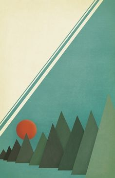 | trees | #design #art #poster #christopher paul