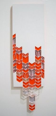 Breaking Arrows - 2011 | Flickr - Photo Sharing! #sculpture #pattern #sandra #fettingis #denver #laser #arrows #wood #colorado #art
