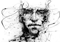 water-5-600x426.jpg (600×426) #tint #illustration #face #black