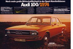 Audi 100 C1 (1974) Wirtschaftlichkeit | Flickr - Photo Sharing! #advertising #photography #cars #1970s #audi