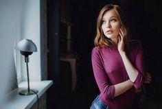 Elegant and Beauty Female Portraits by Evgeny Freyer