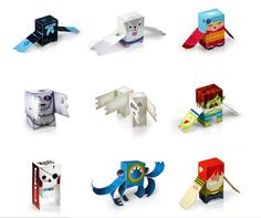 TheDieline.com: The Leading Package Design Blog: March 2007 posts #characters #dolls