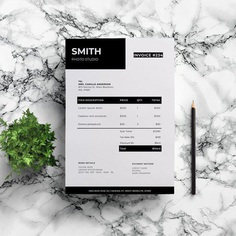 Photography Invoice Template | Modern Invoice| Professional Invoice | Word Invoice | Simple Invoice | Invoice Form | Word Invoice