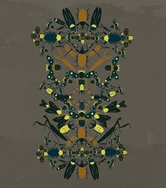 insekta mood : Cristian Grossi illustrator and creative designer #insects #pinko #italian #illustration #insekta #fashion #grossi #cristian