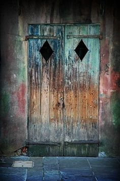 FFFFOUND! #preservation #door #diamond #louisiana #wood #orleans #hall #new