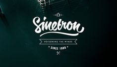 Typography Series on Behance #lettering #sinetron #lovely #brush