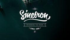Typography Series on Behance #lettering #brush #lovely #sinetron