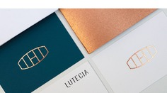 Lutecia Corporate Identity - Mindsparkle Mag marimo studio & Fabiola Rivera Guerra designed the corporate identity for Lutecia – a small place specializing in wine, which offers carefully selected labels. #logo #packaging #identity #branding #design #color #photography #graphic #design #gallery #blog #project #mindsparkle #mag #beautiful #portfolio #designer