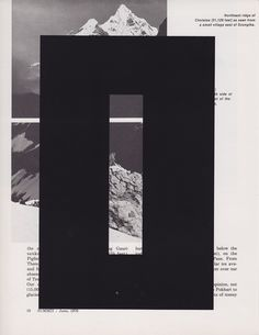 Summit - Brandon F. Wilson #layout #design #typography