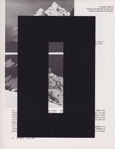 Summit - Brandon F. Wilson #layout #design #typography