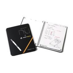 Combine the versatility of a notebook with the creativity of a whiteboard with this Whiteboard Notebook! #product #design #gadget #stationary