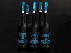 French bistro | Café du monde | Work | lg2boutique #dark #blue #identity