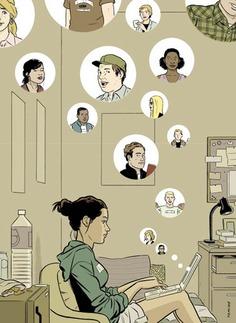 ADRIAN TOMINE - Illustrations