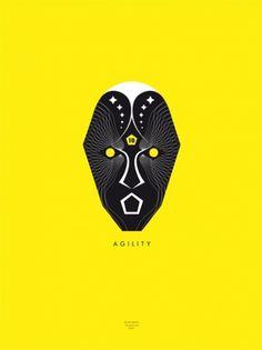 Mr L'Agent - SANGHON KIM #magic #nike #black #poster