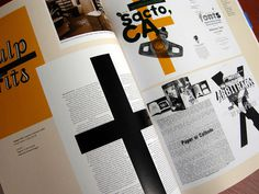 emigre 70 spread #orange