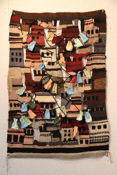 Little Slums on the RISD Portfolios #weave #fibers #textile #yarn #knit