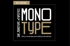 GNF_MONOTYPE TYPEFACE