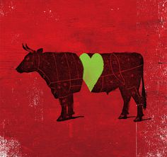 Tumblr #heart #cut #beef #cow #number