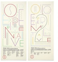 Music - The Metric System #typography #poster #the metric system