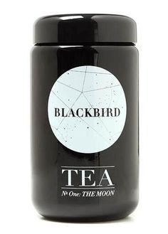 Blackbird Tea No. One: The Moon | AnOther | Loves #packaging #tea