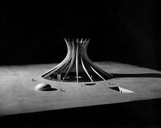 Oscar Niemeyer, Cathedral, Brasilia, Brazil, 1959 #oscar #architecture #niemeyer #landscapes