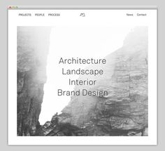 Snøhetta #website #layout #design #web