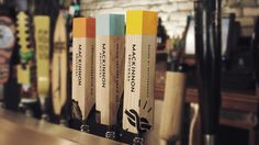 MacKinnon Brothers Brewing Co. #brewery #beer #canada #handles #branding #packaging #design #craft #tap #package