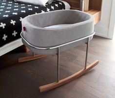 Rock your baby to sleep in #style with the Rockwell Bassinet. #productdesign