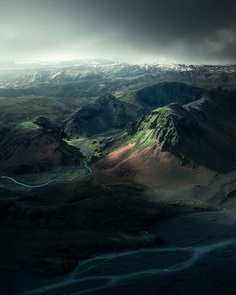 Iceland From Above: Drone Photography by Arnar Kristjansson