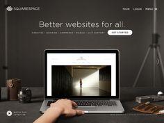 SQUARESPACE New Personas #background #web #ui