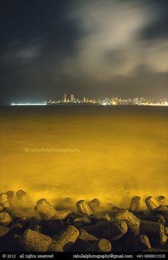 All sizes   Marine Drive, Mumbai, India.   Flickr - Photo Sharing! #cityscape #lal #mumbai #india #photography #sea #drive #marine #rahul