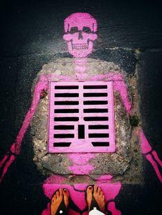 Skull #Streetart /#Graffiti