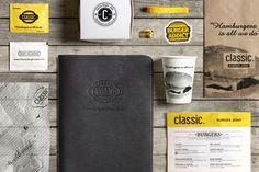 Classic Burger Joint / Branding #joint #classic #burger #branding