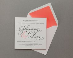 Cheree Berry Paper | Oh So Beautiful Paper #type #letterpress #invite