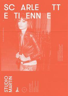 scarlett etienne #event #design #poster #music #typo