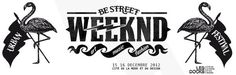 Be Street Weeknd #logo #white #black #and