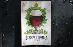 2012 Madison Craft Beer Week Field Guide on Behance