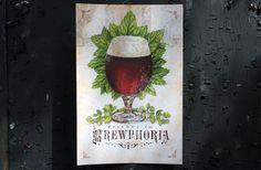 2012 Madison Craft Beer Week Field Guide on Behance