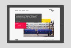 Urben by Ranch #website #web #mobile #ipad